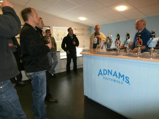 Adnams Brewery & Tours